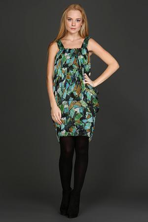 Платье Malandrino. Цвет: зеленый