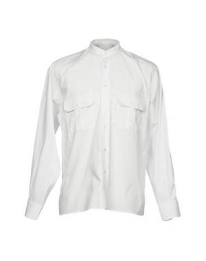 Pубашка CAMO. Цвет: белый