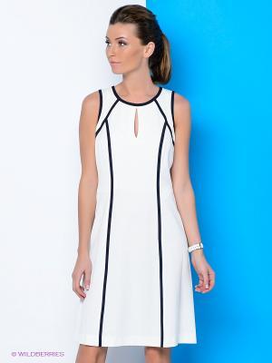Платье River Woods. Цвет: белый, черный