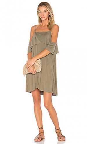 Платье iris LA Made. Цвет: серый