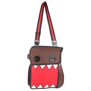 Сумка через плечо  2D Cartoon Tooth Brown/Red/Black Jump from paper. Цвет: коричневый,красный,черный