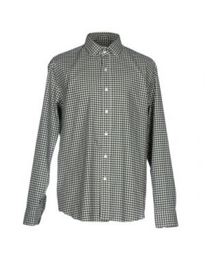 Pубашка SALVATORE PICCOLO. Цвет: темно-зеленый
