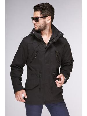 Куртки Nikolom. Цвет: черный