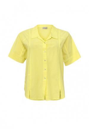 Рубашка Svesta. Цвет: желтый