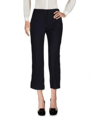 Повседневные брюки ISSA. Цвет: темно-синий