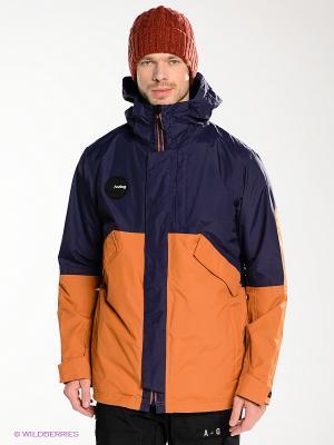 Куртка AG TORRENT JK Analog. Цвет: темно-синий, терракотовый