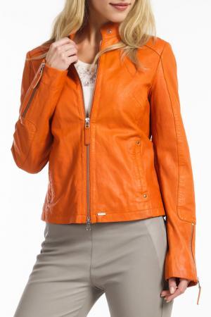 Куртка Ibana. Цвет: оранжевый