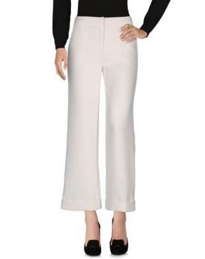 Повседневные брюки RELATED. Цвет: белый