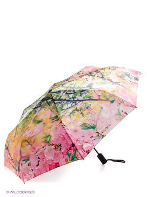 Зонт Flioraj. Цвет: розовый, белый