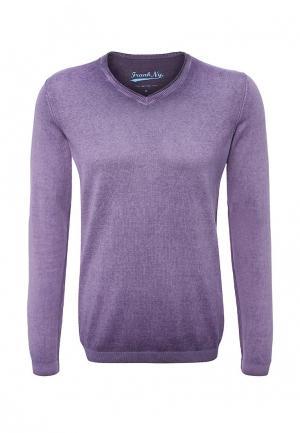Пуловер Frank NY. Цвет: фиолетовый