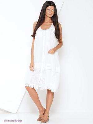Платье Malvin. Цвет: молочный