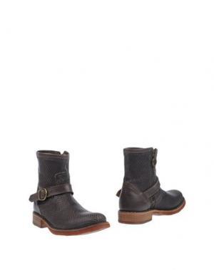 Полусапоги и высокие ботинки FIORENTINI+BAKER. Цвет: стальной серый