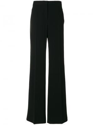 Плиссированные брюки Alberta Ferretti. Цвет: чёрный