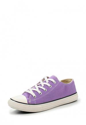 Кеды Instreet. Цвет: фиолетовый