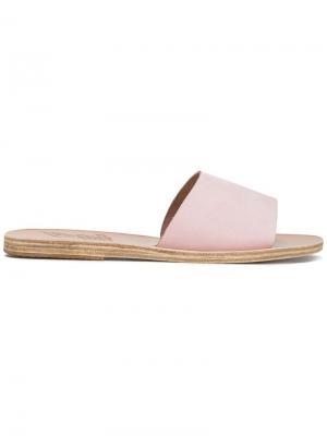 Сандалии Taygete Ancient Greek Sandals. Цвет: розовый и фиолетовый