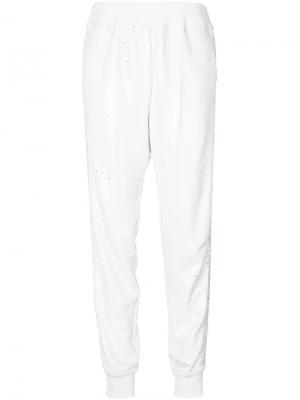 Спортивные брюки Phone A.F.Vandevorst. Цвет: белый