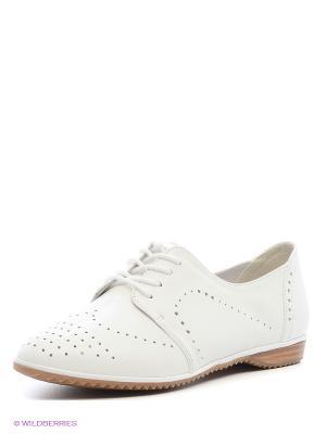 Ботинки Daniela Bernardi. Цвет: белый