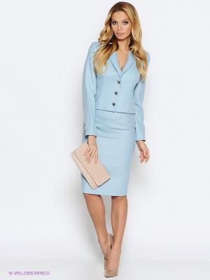 Пиджак PALLARI. Цвет: голубой