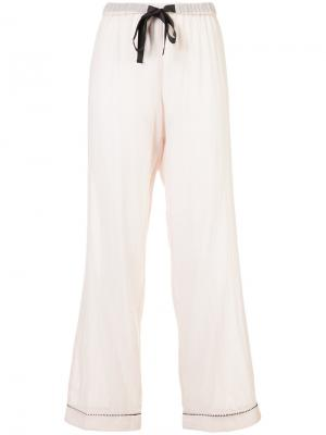 Chantal pyjama trousers Morgan Lane. Цвет: розовый и фиолетовый