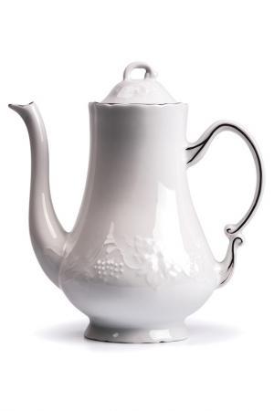 Кофейник 1300 мл La Rose des Sables. Цвет: белый, серебряный