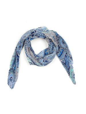 Платок Pretty Mania. Цвет: бирюзовый, голубой, синий