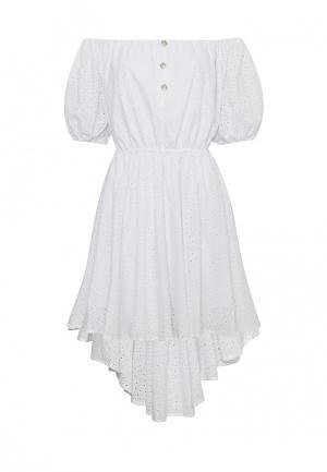 Платье 9AConcept. Цвет: белый