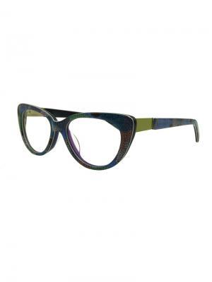 Оправа 8023 C10 Moretti. Цвет: синий, оливковый