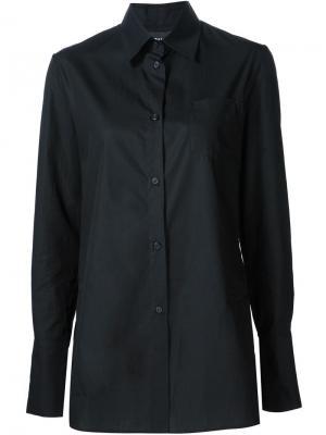Платье-рубашка Yang Li. Цвет: чёрный