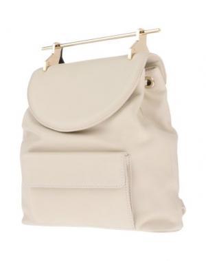 Рюкзаки и сумки на пояс M2MALLETIER. Цвет: бежевый