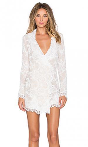 Платье fillmore STONE_COLD_FOX. Цвет: белый