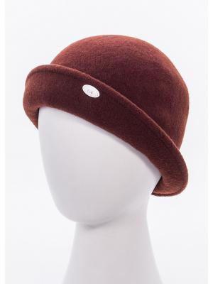 Шляпа AVANTA. Цвет: темно-коричневый