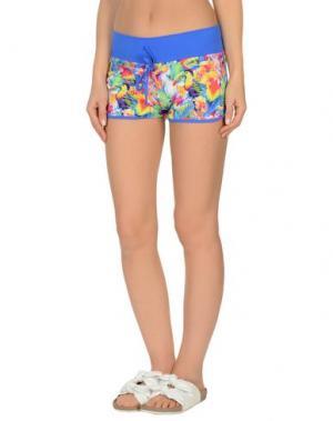 Пляжные брюки и шорты MC2 SAINT BARTH. Цвет: синий