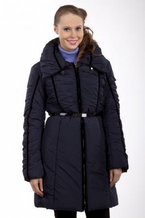 Пальто Locust. Цвет: синий