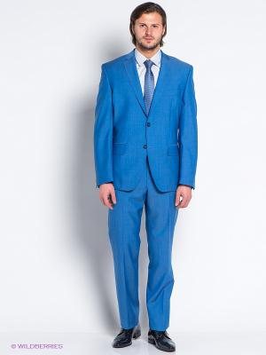 Костюм Slava Zaitsev. Цвет: голубой