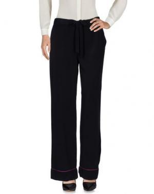Повседневные брюки EQUIPMENT FEMME. Цвет: черный