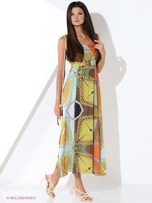 Платье Malvin. Цвет: хаки