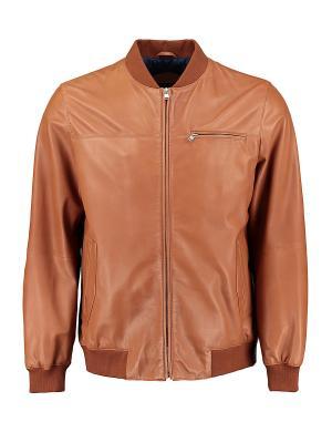 Куртка Florentino. Цвет: коричневый