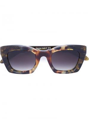 Солнцезащитные очки Mask F2 Kuboraum. Цвет: многоцветный