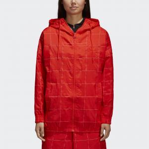 Ветровка CLRDO  Originals adidas. Цвет: оранжевый