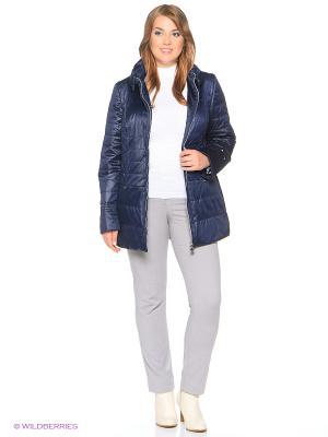 Утепленная куртка MONTSERRAT. Цвет: темно-синий
