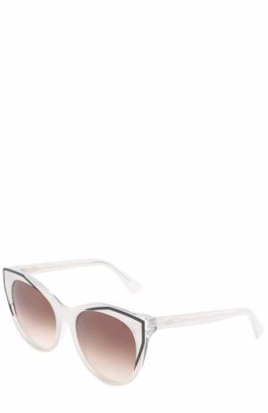 Солнцезащитные очки Thierry Lasry. Цвет: белый