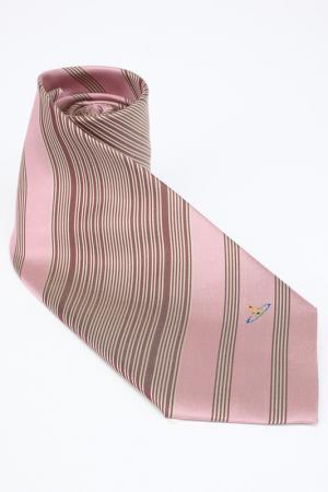 Галстук Vivienne Westwood. Цвет: розовый, бежевый