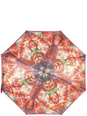 Зонт Eleganzza. Цвет: оранжевый, зеленый