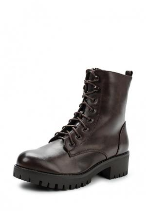 Ботинки Mellisa. Цвет: коричневый