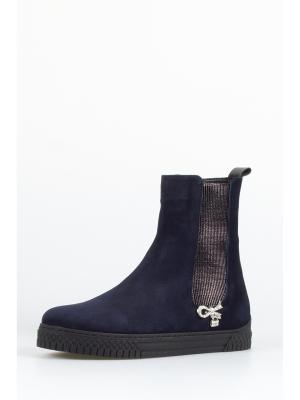 Ботинки TUFFONI. Цвет: темно-синий