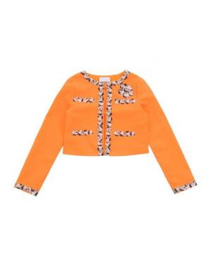 Пиджак MOSCHINO KID. Цвет: оранжевый
