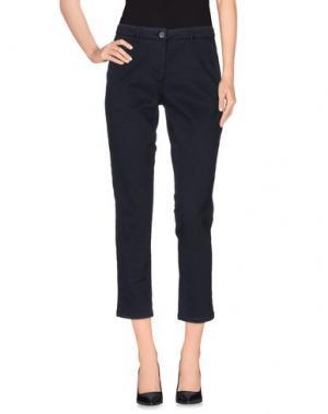 Повседневные брюки LOT 78. Цвет: синий