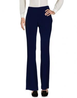 Повседневные брюки GIANLUCA CAPANNOLO. Цвет: темно-синий