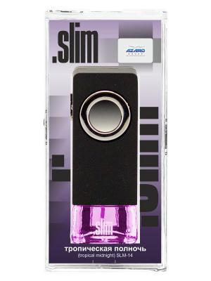 Ароматизатор в дефлектор Slim Тропическая полночь AZARD. Цвет: черный