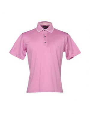 Поло BRAMANTE. Цвет: розовый